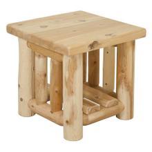 W1909 White Cedar End Table