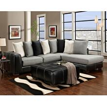 2-Piece Idol Steel Sectional