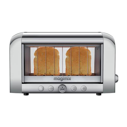 Magimix 2-Slot Vision Toaster, Chrome