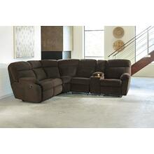 Demarion Reclining Sectional w/Console