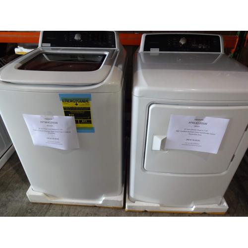 FRIGIDAIRE WASHER & DRYER MATCHING SET