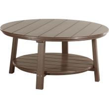 Deluxe Conversation Table Chestnut Brown
