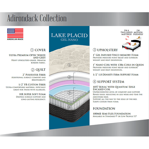 Lake Placid Gel Nano Coil Hybrid