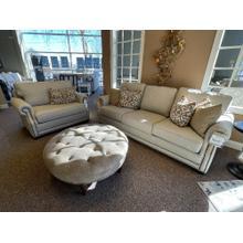 'Zenite Jute' Sofa Style# 4700F10 with Nailhead Trim