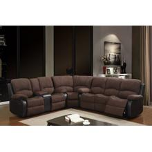 Rider Chocolate 3 PC Sectional