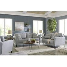 Cardello- Pewter Sofa and Loveseat