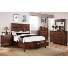 See Details - Mango Queen Storage Panel Bed