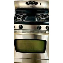 """USED- 30"""" Self-Cleaning Freestanding Gas Range G30SSSTV-U Serial #64"""