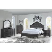 Home Insights Harbor Town King Bedroom Set: King Bed, Nightstand, Dresser & Mirror