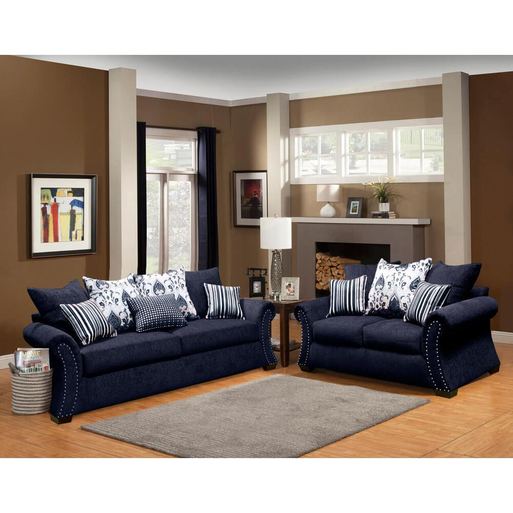 Monica Sofa and Love Seat