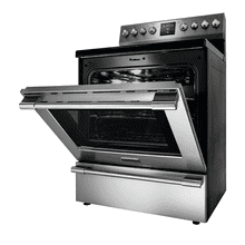 Frigidaire Professional electric smooth top freestanding range.