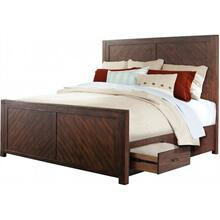 Jax Bedroom - King Storage Bed