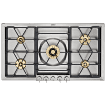 """View Product - CLOSEOUT SPECIAL! Out of box special! Gas cooktop 200 Series 36""""; Full manufacturer warranty; Model VG295214CA, SN:9112100017"""