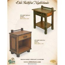 Old Faithful Nightstands