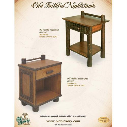 Old Faithful Nightstands