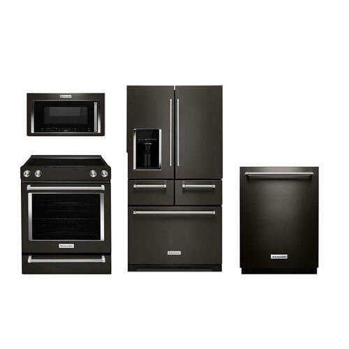 KitchenAid Black Stainless Steel Package