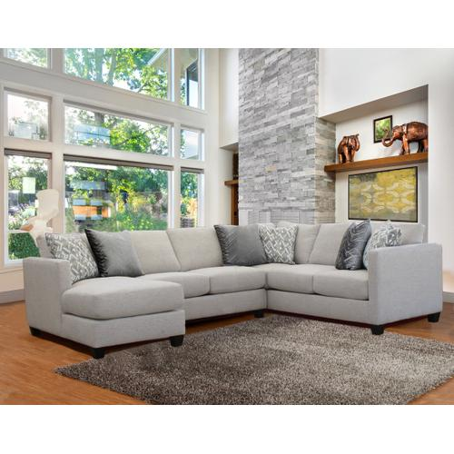 Comfort Industries - Omni 3 Pc. Sectional Pumice