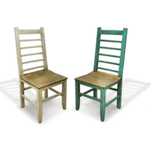 Bombay Ladder Back Color Chair