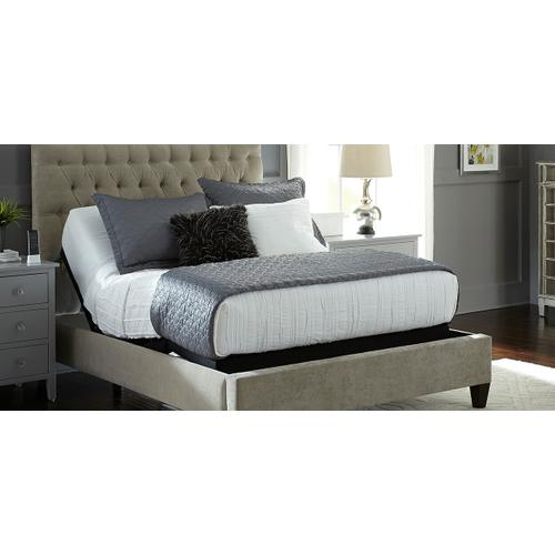 Queen Luxury Firm Mattress With Tranquility II Adjustable Foundation
