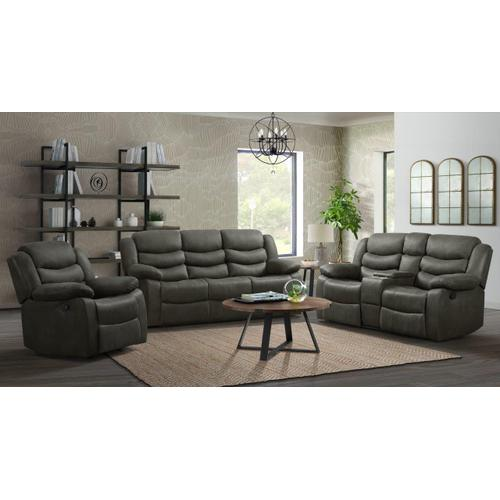 59929 Expedition Shadow Reclining Loveseat Only