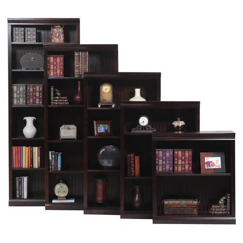 "Poplar 84"" Open Bookcase"