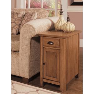 Null Furniture Inc - Chairside Cabinet in Autumn Oak Finish       (1014-22,53033)