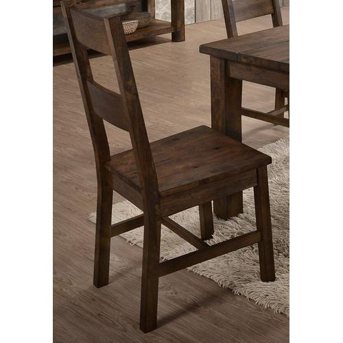 LIFESTYLE C6377D Tamilo Brown 5-Piece Dinette - Table And 4 Chairs