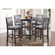 """See Details - """"GIA"""" GRAY TABLE SET    D1701GRY"""