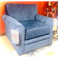 Collins Chair in Navy         (230-494-C124186,44968)
