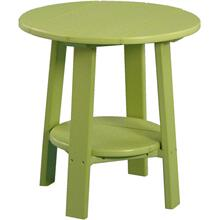 Deluxe End Table Lime Green