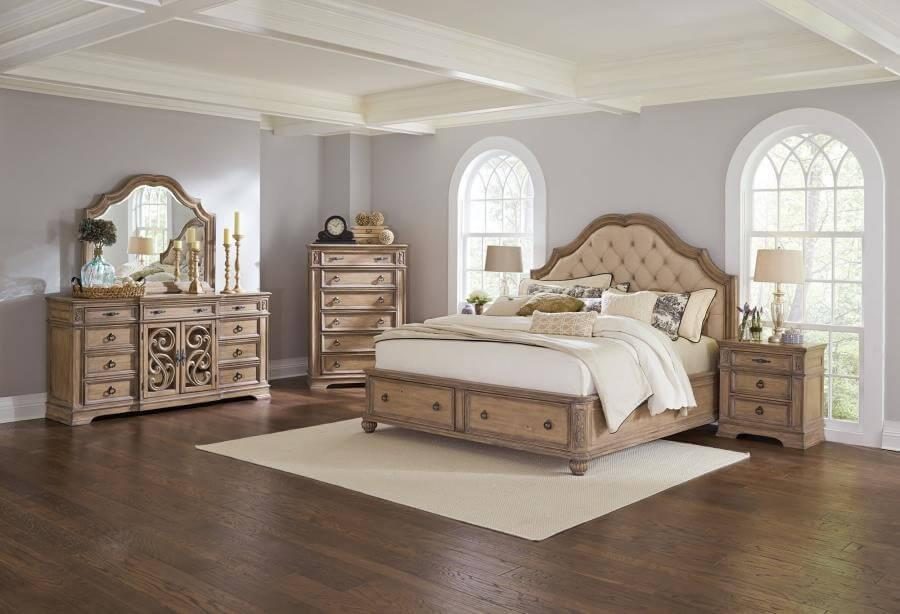 Ilana 4Pc Cal King Bed Set