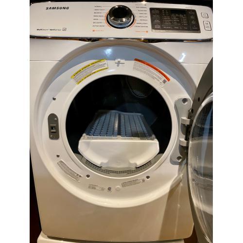 Samsung DV50K7500GW     7.5 cu. ft. Gas Dryer in White