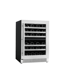 See Details - Vinoa Collection - Built-In/Freestanding Wine Cellar - 24 Bottles Capacity - Dual Zone