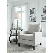 Tiarella Silver Occasional Chair