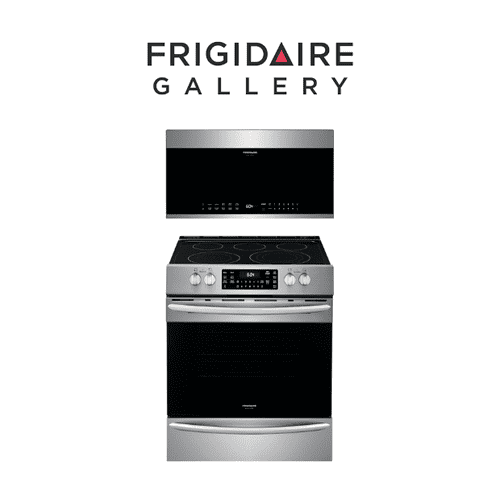Frigidaire Gallery Electric Range & Over the Range Microwave
