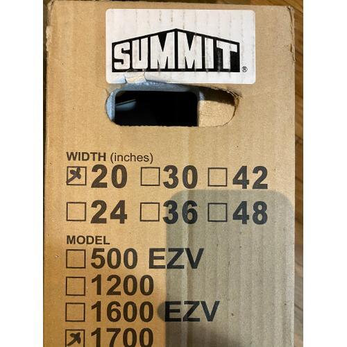 """Summit - Summit H1720SS   20"""" Under Cabinet Ductless Range Hood"""