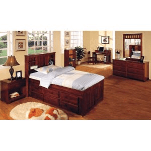 Donco Trading CompanyTwin Bookcase Bed