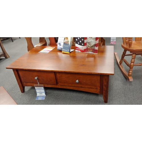 Amish Craftsman - Bailey Coffee Table & 2 End Tables