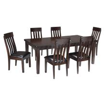 Venkman Table & Six Chairs