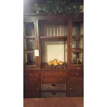 Mahogany Floating China Cabinet