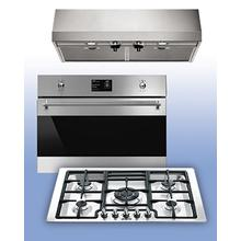 See Details - SMEG - Choose Eligible SMEG Cooking Appliances and Receive a FREE Ventilation Hood. See 3 pc Example.