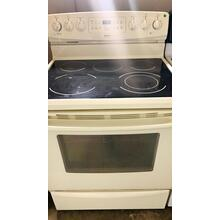 "USED- GE 30"" Free-Standing Electric Range - E30BISCOIL-U SERIAL #16"