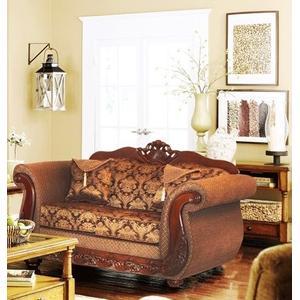 Kaylas Furniture - 998 Loveseat - 31 Brown