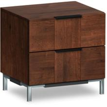 American Modern 2dr Nightstand