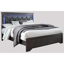 Pompeii King Bed Grey
