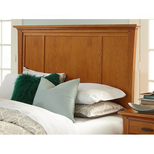 LSO Prairie City King Mantel Storage Bed Summer Finish
