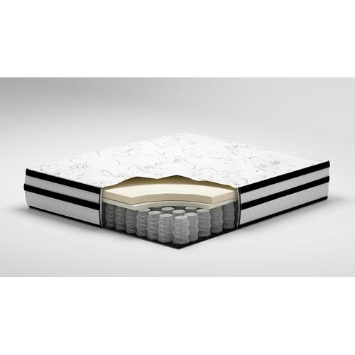 """Randy-1 Queen 10"""" Hybrid Innerspring Mattress with Adjustable Power Base and Zoned Massage"""