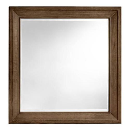 A&P Maple Road Landscape Mirror in Maple Syrup Finish