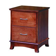 Crescent Two Drawer Nightstand