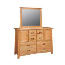 Craftsmen Large Dresser with Mirror